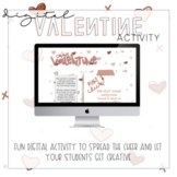 Digital Valentine Activity