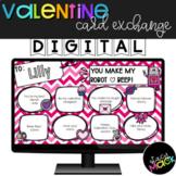 Valentines Day Activity | Card Exchange | Google Slides
