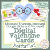 Digital Valentines Day Cards | Distance Learning | Google