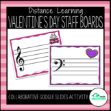 Digital Valentine's Day Music Magnet Boards - For Distance