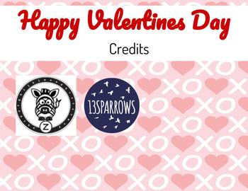 Digital Valentine's Day Worksheet: I love learning!