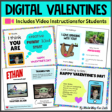 Digital Valentine's Day Cards | Virtual Valentines Party a