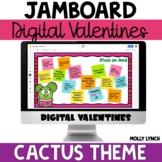 Digital Valentines for Jamboard™ Cactus Theme Valentines