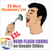 Digital Verb Flash Cards