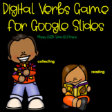 Digital Verbs for Google Slides and Distance Learning