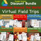 Virtual Field Trip of Winter Holidays Around the World Bundle Digital