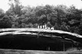 Digital Vintage Image children at large cave Graham Cave Missouri