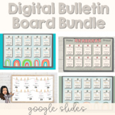 Digital / Virtual Bulletin Board Bundle | Distance Learning