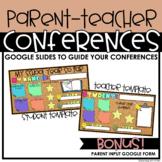 Digital/Virtual Parent Teacher Conferences | Google Form