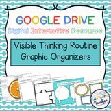 Digital Visible Thinking Routine Graphic Organizers {Google}