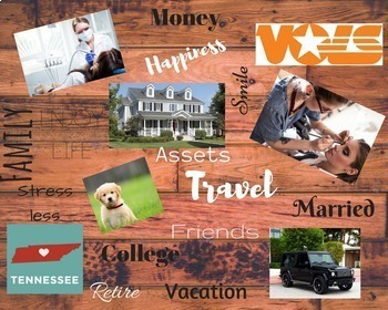 S.M.A.R.T. Goals and Digital Vision Board Project