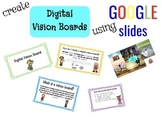 Digital Vision Board using Google Slides
