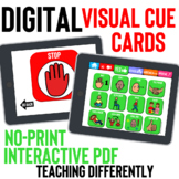 Digital Visual Cue Cards for Distance Learning
