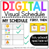 Digital Visual Schedule for School and Home [150+ icons] |