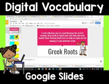 Digital Vocabulary Practice
