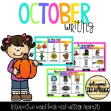 Digital Vocabulary and Journal Prompts for October