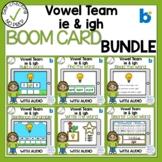 Boom Cards Vowel Team IE and IGH bundle