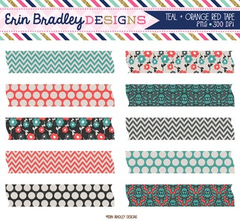Digital Washi Tape Clipart