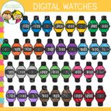 Digital Watches Clip Art
