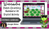 Digital Watermelon Patch Counting (1-10) Math Center Activ