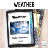 Digital Weather Interactive Notebook - Distance Learning
