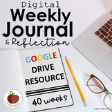 Journal Prompts - Reflection - Digital - Growth Mindset - Google Drive Resource