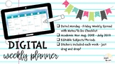 Digital Weekly Planner