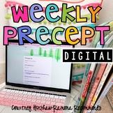 Digital Weekly Precept Resource