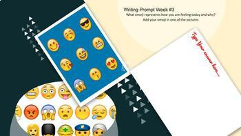 Digital Weekly Writing Prompt