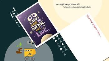 Digital Weekly Writing Prompt