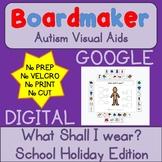 Digital What Shall I Wear - Digital Visual Aids for Autism