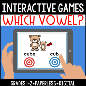 Interactive, Digital and Paperless: Which Vowel Game?