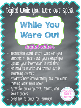 Digital While You Were Out Spiral (Google Drive Resource)