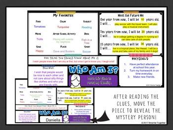 Digital Who Am I? Back to School