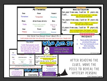 Digital Who Am I? Back to School