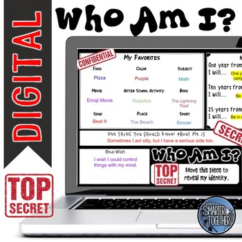 Digital Who Am I? Back to School - Top Secret Edition