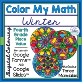 Digital Coloring Activities Google Forms™ and Slides™ Wint