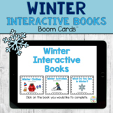 Digital Winter Interactive Books BOOM Cards