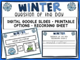 Digital Winter Question of the Day
