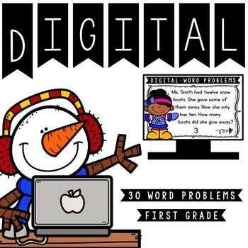 Digital: Winter Word Problems