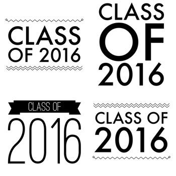 Digital Word Art #1 - Class of 2016