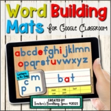 Digital Word Building Mats with Moveable Letter Magnets fo