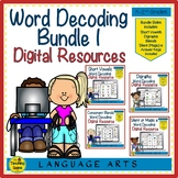 Digital Word Decoding Bundle for Google Slides