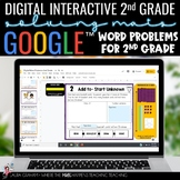 Digital Word Problems for 2nd Grade