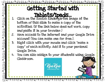 Digital Word Problems for Google Classroom, Seesaw Journal, and Google Slides