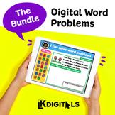 Digital Interactive Word Problems Bundle | Google Slides™