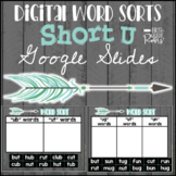 Digital Word Sorts Short U using Google Slides