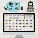 Digital Word Wall - Distance Learning