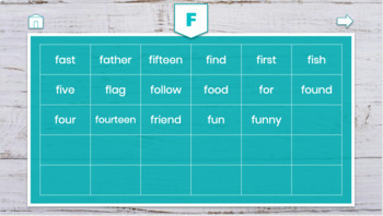 Digital Word Wall - Editable!