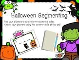 Digital Word Work Center - Halloween FREEBIE!